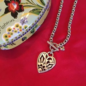 Brighton Jewelry - ❤️Brighton Silver Heart Necklace